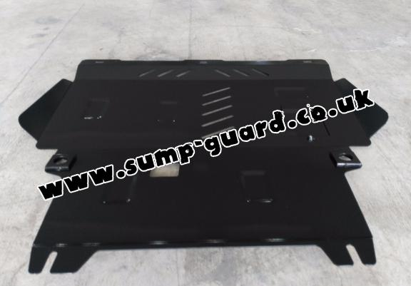 Steel sump guard for Ford KA+