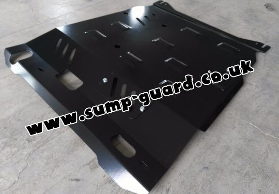 Steel sump guard for Citroen Aircross