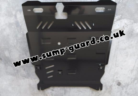 Steel sump guard for the protection of the engine and the gearbox for Mitsubishi Lancer
