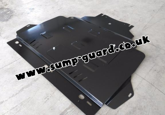 Steel sump guard for Ford Focus 2