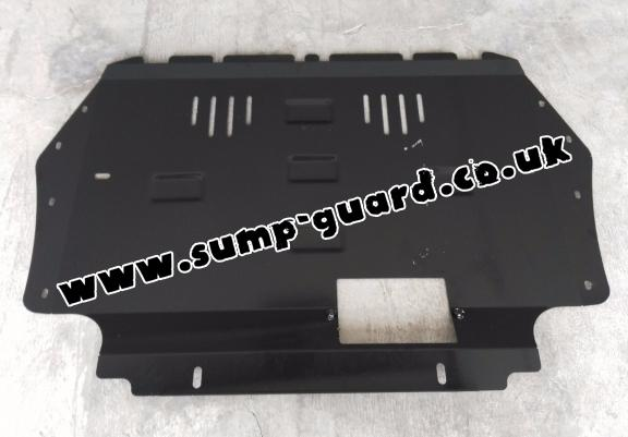 Steel sump guard for the protection of the engine and the gearbox for Audi A3