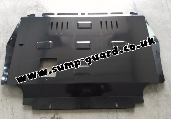 Steel sump guard for Audi A3