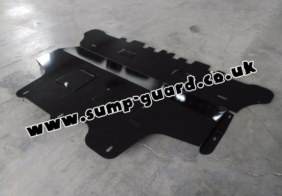 Steel sump guard for Seat Altea - manual gearbox