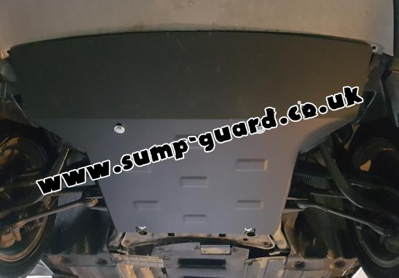 Steel sump guard for  BMW X4