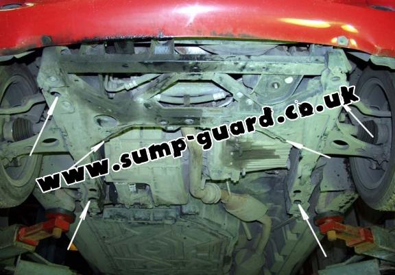Steel sump guard for Mercedes A-Classe W168