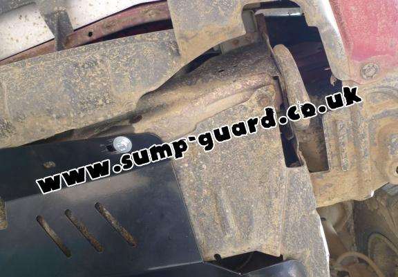Steel sump guard for Nissan X-Trail T30
