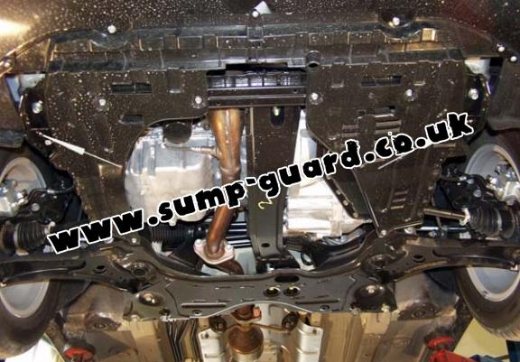 Steel sump guard for Fiat Sedici