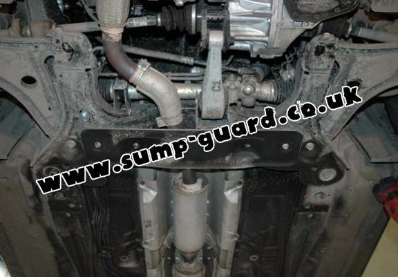 Steel sump guard for Daewoo Nubira