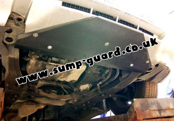 Steel sump guard for Citroen Evasion