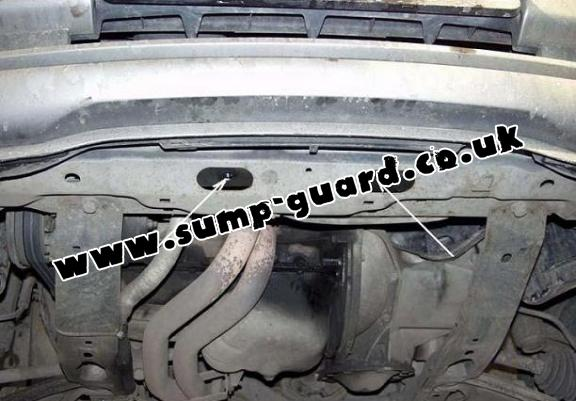 steel sump guard for vauxhall vectra a. Black Bedroom Furniture Sets. Home Design Ideas