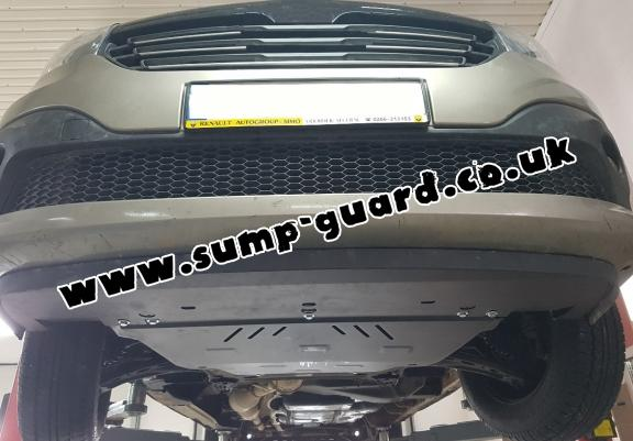 Steel sump guard for Fiat Talento